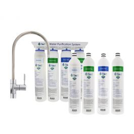 Tier1 4-Stage Ultra-Filtration Hollow Fiber Quick-Change Drinking Water Filter System