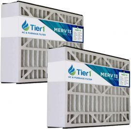 DPFW16X25X5M13DLX Tier1 Replacement Air Filter - 16X25X5 (2-Pack)