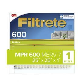 25x25x1 3M Filtrete Dust and Pollen Filter (1-Pack)