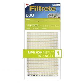 10x20x1 3M Filtrete Dust and Pollen Filter (1-Pack)