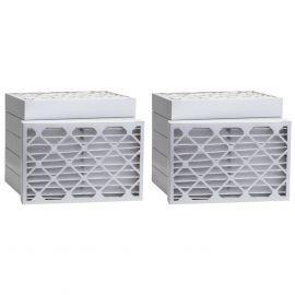 Tier1 20 x 21-1/2 x 2  MERV 13 - 6 Pack Air Filters (P25S-622021H)