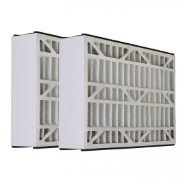20x25x5 DPP52025 Air Kontrol Air Filter: Merv 8 Comparable Replacement By Tier1 (2-Pack)