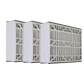 Tier1 brand replacement for Bryant - 16 x 25 x 3 - MERV 8 (3- Pack)