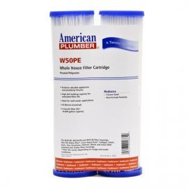 W50PE American Plumber Whole House Sediment Filter Cartridge (2-Pack)