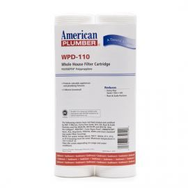 WPD-110 American Plumber Whole House Sediment Filter Cartridge (2-Pack)