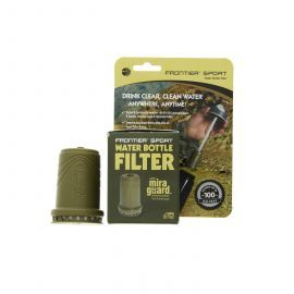 Aquamira 67108 Frontier Sport Water Bottle Replacement Filter Cartridge (Military)