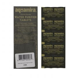 Aquamira 67406 Water Purifier Tablets (Military) (50-Pack)