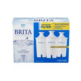 Brita 35503 Water Pitcher Filter Replacement Cartridges (3-Pack)