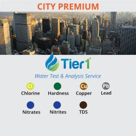 Tier1 Water Testing and Analysis Service for CITY Water