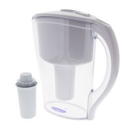 Crystal Quest Clear Water Filter Pitcher (#CQE-PI-00600)