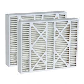DPFS20X25X6DLX Tier1 Replacement Air Filter - 20X25X6 (2-Pack)