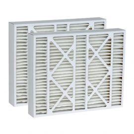 DPFS20X25X6DLX Tier1 Replacement Air Filter - 20X25X6 (2-Pack)