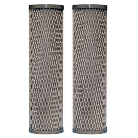 WFPFC8002 Universal Whole House Carbon Wrap Two-Phase Cartridge by DuPont (2-pack)