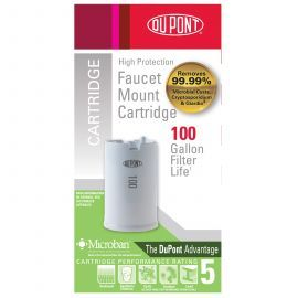WFFMC100X DuPont Faucet Mount Replacement Cartridge - High Protection Filter