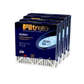 20x20x4 3M Filtrete Allergen Reduction Filter (4-Pack)
