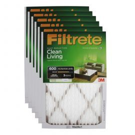 3M Filtrete 600 Dust & Pollen Air Filter (16x24x1)