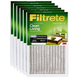 Filtrete 600 Dust and Pollen Filter - 16x25x1 (6-Pack)
