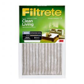 20x20x1 3M Filtrete Dust and Pollen Filter (1-Pack)