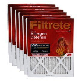 Filtrete 1000 Micro Allergen Filter - 16x20x1 (6-Pack)