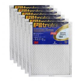 24x30x1 3M Filtrete Ultimate Allergen Filter (6-Pack)