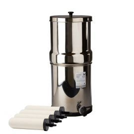 Doulton W9361122 Gravity Water Filter System Stainless Steel with 4x ATC Super Sterasyl Candle Filters