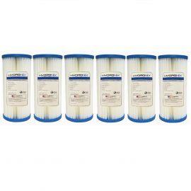 Hydronix SPC-45-1020 10 x 4.5 inch Pleated Sediment Water Filter 6pk