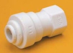 3/8 Tube x 7/16-24 UNS Thread Faucet Connector