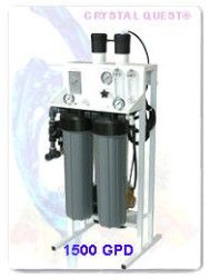 Crystal Quest Commercial Reverse Osmosis 1,500 GPD Water Filter System