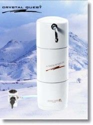 Crystal Quest Countertop Disposable Single Multi PLUS Water Filter System