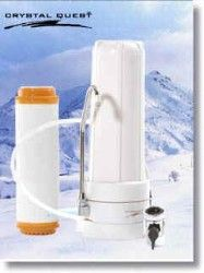 Crystal Quest Countertop Replaceable Single Nitrate/Multi Water Filter System