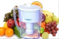 Crystal Quest CQE-PI-00601 Blue Water Filter Pitcher