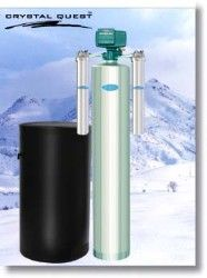 Crystal Quest Whole House Softener 2.0 Water Filter System (Stainless Steel)