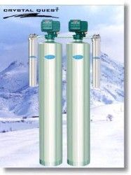 Crystal Quest Whole House Multi/Sediment 1.5 Water Filter System (Stainless Steel)