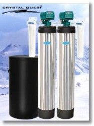 Crystal Quest Whole House Softener/Sediment 1.5 Water Filter System