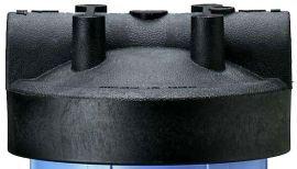 154077 - 1 Inch Black Cap w/o Pressure Release for Big Blue Housings