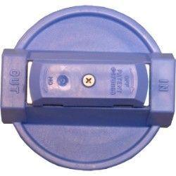 154138 - 3/4-Inch Blue VIH Cap w/pr for #10 Clear Housings