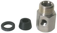 WNV-2 Feed Water Valve Adapter (1/2-Inch F x 1/2-Inch M x 1/4-Inch F)