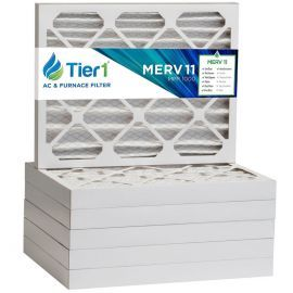 Tier1 1500 Air Filter - 16x20x2 (6-Pack)