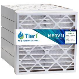 Tier1 20 x 21 x 4  MERV 11 - 6 Pack Air Filters (P15S-642021)