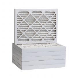 Tier1 19-7/8 x 21-1/2 x 2  MERV 13 - 6 Pack Air Filters (P25S-6219M21H)