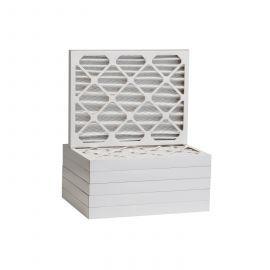 Tier1 20 x 21-1/2 x 2  MERV 8 - 6 Pack Air Filters (P85S-622021H)
