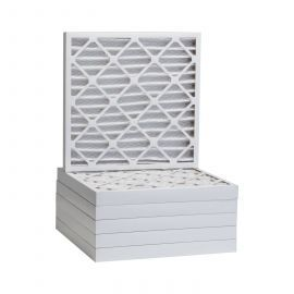 Tier1 21-1/2 x 21-1/2 x 2  MERV 8 - 6 Pack Air Filters (P85S-6221H21H)