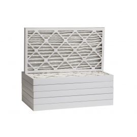 Tier1 12-1/2 x 24-1/2 x 2  MERV 8 - 6 Pack Air Filters (P85S-6212H24H)