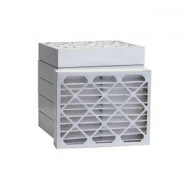 Tier1 20 x 22-1/4 x 4  MERV 8 - 6 Pack Air Filters (P85S-642022D)