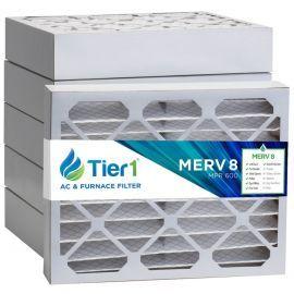 Tier1 20 x 22 x 4  MERV 8 - 6 Pack Air Filters (P85S-642022)