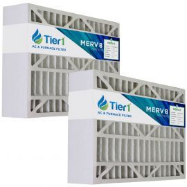 Tier1 brand replacement for Aprilaire #401 - 16 x 28 x 6 - MERV 8 (2-Pack)
