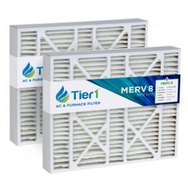 Tier1 brand replacement for Aprilaire #201 - 20 x 25 x 6 - MERV 8 (2-Pack)