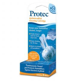 PC-2BXN Antimicrobial Cleaning Cartridge 2-pack by Protec