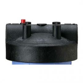 154167 - 1.5 Inch Black Cap w/ Pressure Release for Big Blue Housings