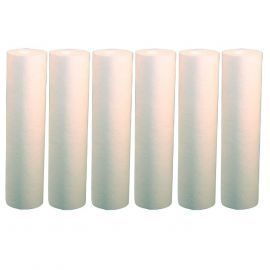 Pentek DGD-7525-20 Sediment Water Filters 20-inch x 4.5-inch (6-Pack)